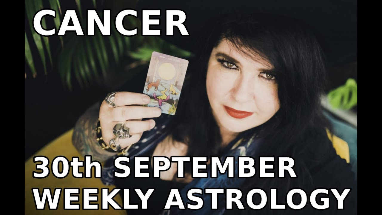 cancer weekly horoscope 20 october 2019 by michele knight