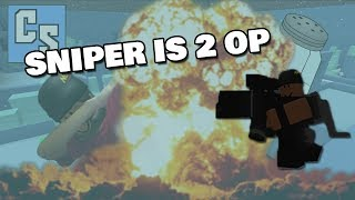 SNIPER IS 2 OP | ROBLOX CRITICAL STRIKE