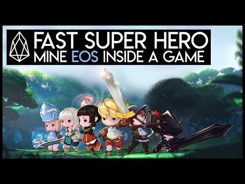 Fast Super Hero (Beta) - Mine EOS Inside A Game