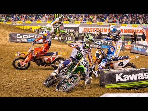 450SX Highlights: Indianapolis - Monster Energy Supercross 2017