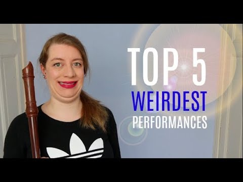 The 5 weirdest pieces I've played..! | Team Recorder
