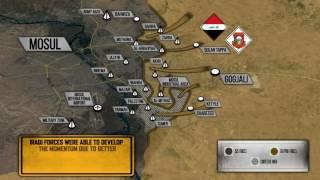 Битва за Мосул - правительственные силы контролируют 70% восточной части города. Русский перевод.