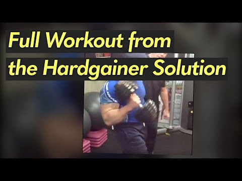 Hardgainer Solution Workout #17 with Trevor Timmins of The Montreal Canadiens