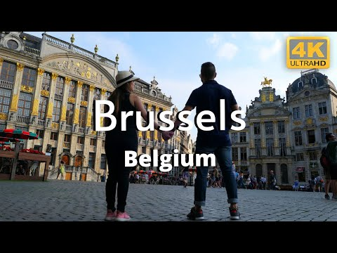 Brussels 4k Belgium Travel Guide & Things to do.