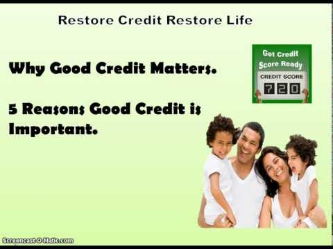 5 reason good credit is important