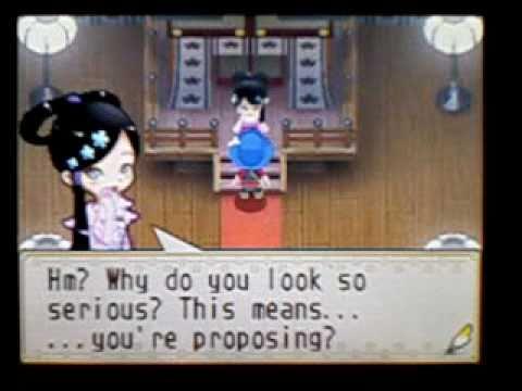 Harvest Moon Grand Bazaar - Emiko : Proposal And Wedding