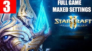 StarCraft 2 Legacy of the Void Walkthrough Part 3 Full Campaign Gameplay - The Growing Shadow