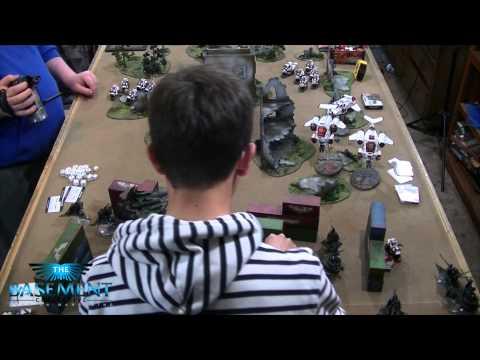 TBMC and SkaredCast - HD Video Batrep - 1500 Grey Knights vs Dark Eldar