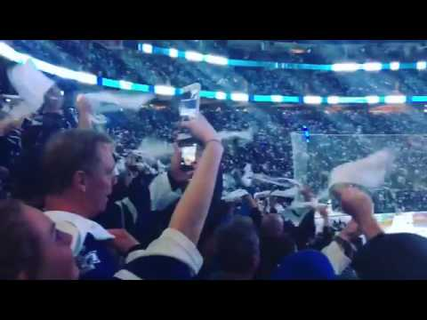 Toronto Maple Leafs Entrance playoffs vs Washington Capitals Air Canada Centre 2017