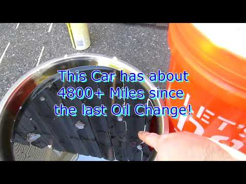 My Cheap $3.50 Per Oil Change - Filtering Used Oil for Reuse - Can it be done? Lets find out!