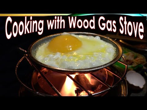Cooking on My Wood Gasifier Stove