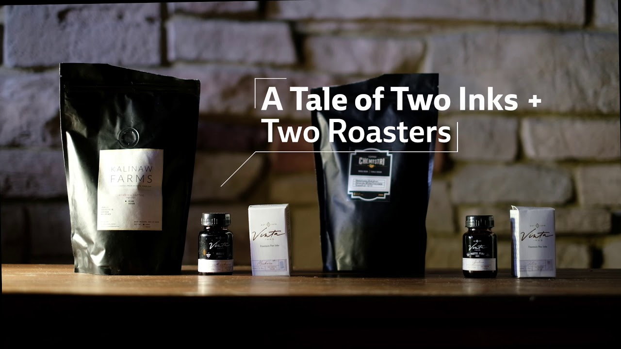 A Tale of Two Inks and Two Roasters
