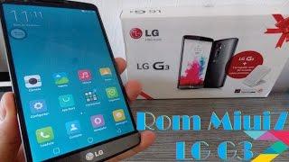 Como instalar ROM Miui 8 ( Android da Xaiomi ) no Lg G3