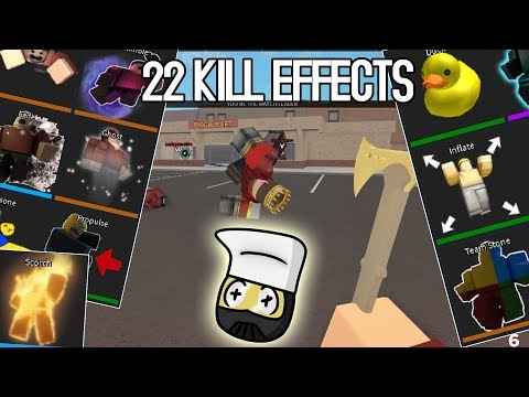 ALL Arsenal Kill Effects Review (where u die)