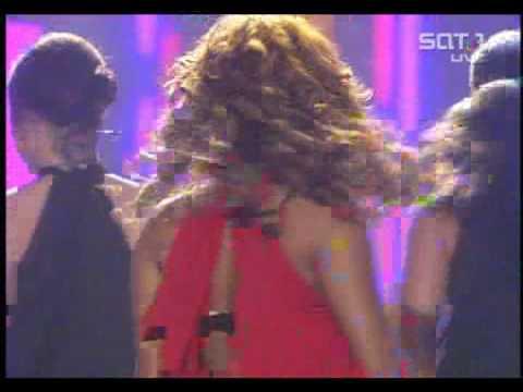 Christina Milian ft Samy Deluxe Dip it Low Live bei Sat 1