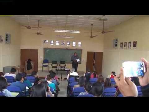 Onyeka Nwelue teaching at the University of Manipur, India