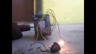 Modification moteur a induction en generateur