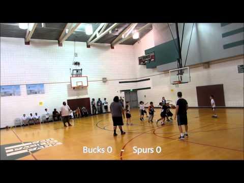 Pan Pacific Park Basketball Bucks vs Spurs 07/18/15