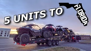 Download 5 UNITS TO FLORIDA TO RIP! Cleetus and Cars demo drag PREP! Mp3 and Videos