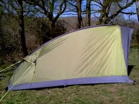 Review of the Lidl Lightweight Hiking tent & Review of the Lidl Lightweight Hiking tent - YouTube
