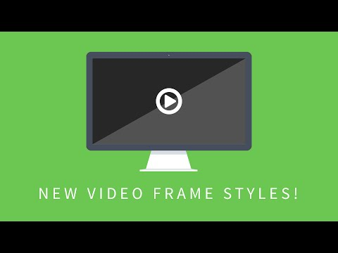 Add A Monitor Style To Your Embedded Videos