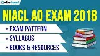 NIACL AO Notification 2018 | Syllabus | Exam Pattern | Books