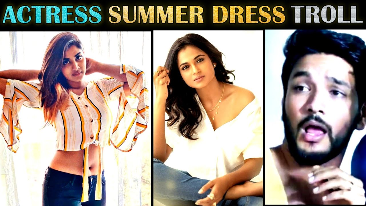 Ramya's Summer Dress Troll   Tamil   Ramya Pandian Photoshoot   Rakesh & Jeni 2.0