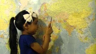 4 Year old  Genius  Geography-  Continents, Countries, Capitals and Currencies.MTS
