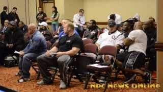 Mr Olympia Athletes Meeting - 2013