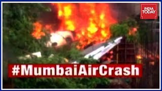 5 Dead, 2 Injured In Private Plane Crash In Mumbai; Cops To Question Aircraft Owners