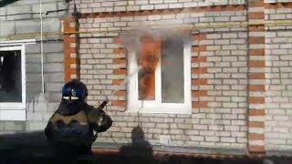 Пожар на ул.Вахитова