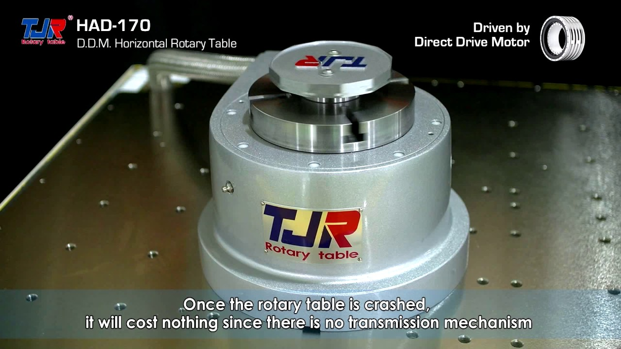 tjr rotary table direct drive motor had 170 for horizontal application youtube. Black Bedroom Furniture Sets. Home Design Ideas