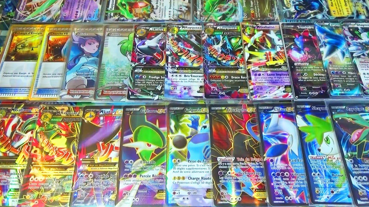 Toute les cartes pok mon ultra rare xy6 ciel rugissant full art ex secrete gold mega full - Tout les carte pokemon ex ...