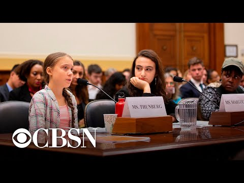Young climate activists testify on Capitol Hill