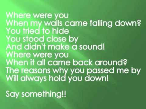 A Day To Remember - Sticks & Bricks w/lyrics