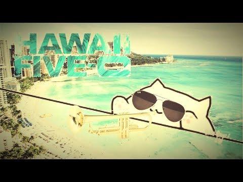 Bongo Cat - Hawaii 5.0 Drum Fill