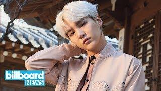 Lee Sora & Suga's 'Song Request' Debuts at No.1 on World Digital Song Sales | Billboard News