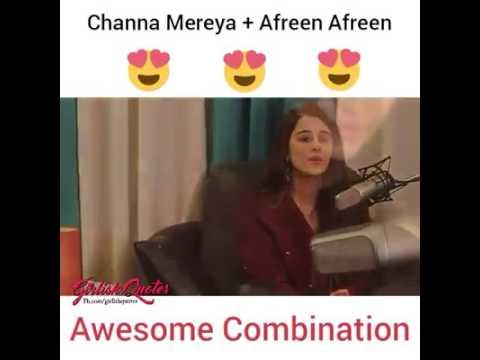 Channa mereya + afreen afreen awsm cover ♡♥ ●○•°