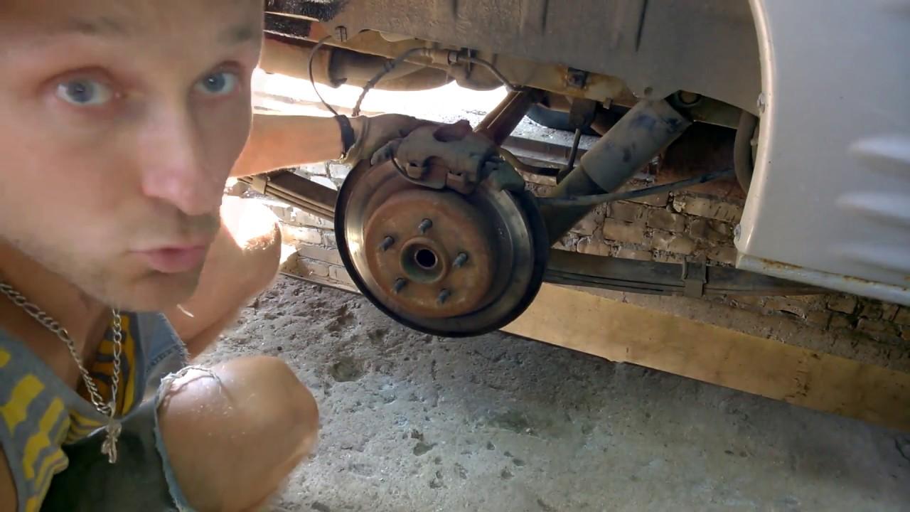 Разборка передней ступицы Крайслер Вояджер