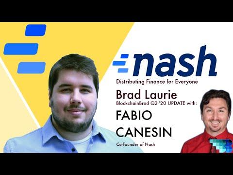 Nash | BlockchainBrad | THE Distributed FinTech Platform | DEX | Security Token | Crypto Pay Gateway