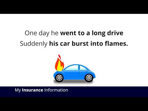 Car insurance | how to renew car insurance | Car burst into flames