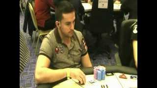 European Poker Tour Loutraki: Παρτίδα πόκερ με Στέλιο Δρόσο(Ο Στέλιος Δρόσος διπλασιάζει σε μία από τις πρώτες παρτίδες πόκερ της Day 2 του European Poker Tour και ξεπερνά τις..., 2011-11-18T11:56:26.000Z)