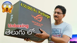 4,50,000 Rs Package Unboxing in Telugu.... 🔥🔥