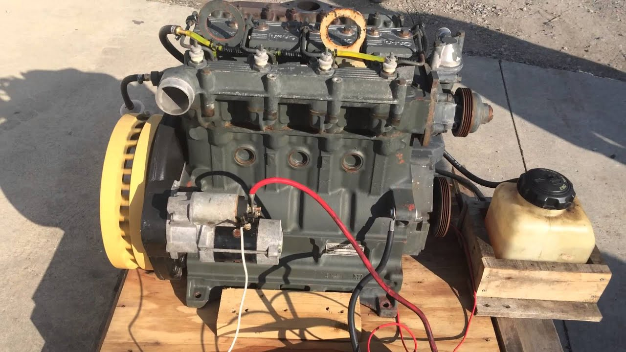 medium resolution of onan dn4m 1 lister petter lpw4 lp460 diesel 4 cylinder military surplus engine 5