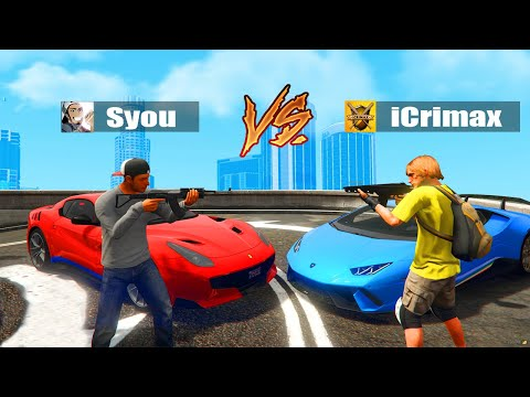 iCrimax VS Syou in GTA 5 RP