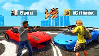 iCrimax VS Syou in GTA 5 RP