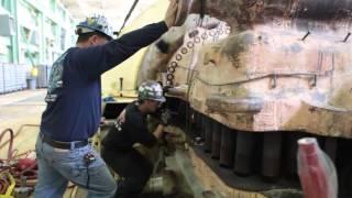 Ремонт паровой турбины в США за 10 минут(, 2015-07-30T04:04:24.000Z)