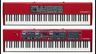 Pianist: Nord Piano 3 or Nord Stage 3 ?