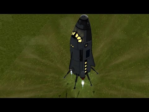 KSP - Mk3 Size Propulsive Landing Capsule Testflight