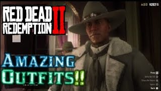 Red Dead Redemption 2 Amazing Outfits #14 (The Winter Wind, The Woodlands Trapper & More!)